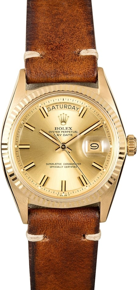 Rolex Vintage President 1803 Certified Pre-Owned