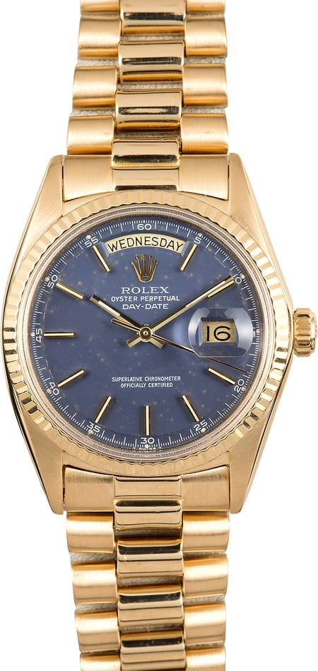 Rolex Vintage President 1803 Day-Date Blue