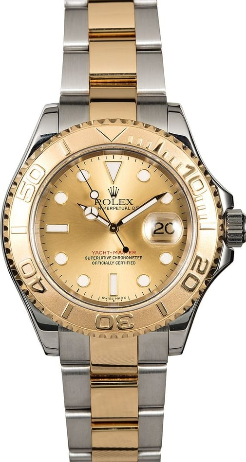 Rolex Yacht-Master 16623 Champagne Dial