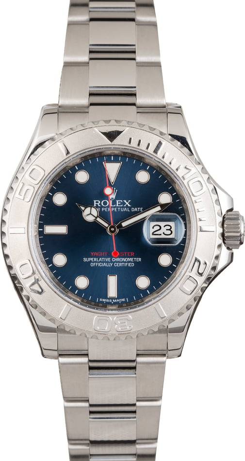 PreOwned Rolex Yacht-Master 116622BLSO