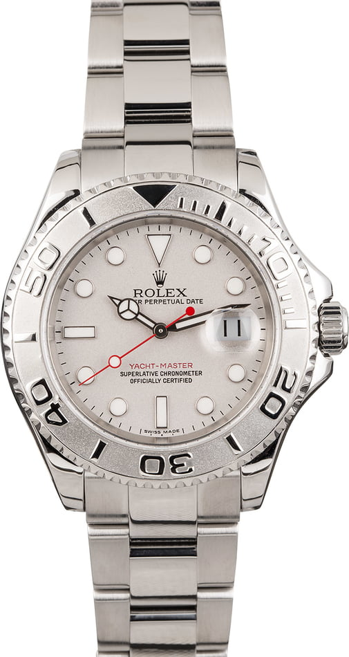 PreOwned Rolex Yacht-Master 16622 Stainless Steel