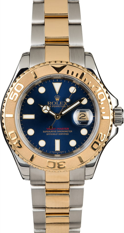 Used Rolex Yacht-Master 16623 Blue Dial