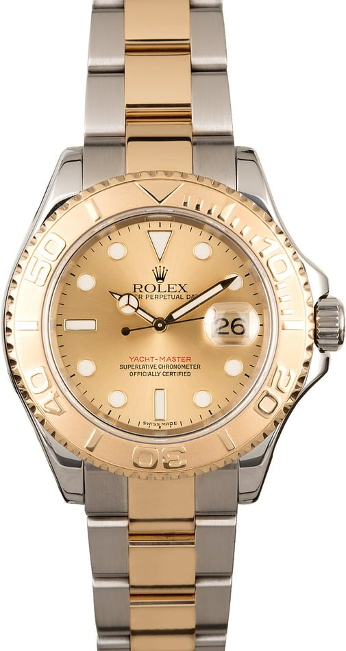 Rolex Yacht-Master 16623 Two Tone Oyster with Champagne Dial