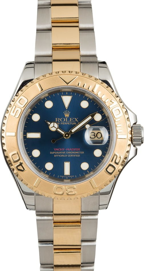 Two Tone Rolex Yacht-Master 16623 PreOwned