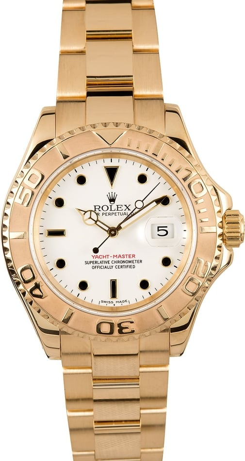 Rolex Yacht-Master 16628 Yellow Gold