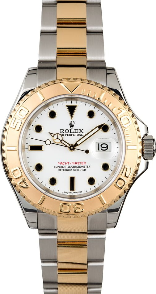 PreOwned Rolex Yacht-Master 16623 Two-Tone