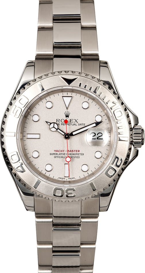 Rolex Yacht-Master 16622 Steel Oyster Band