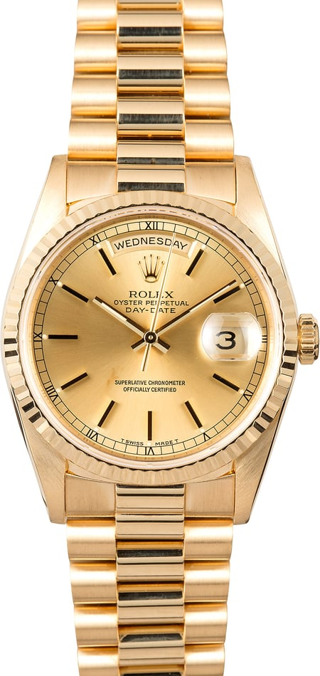 Rolex Yellow Gold Presidential 18238