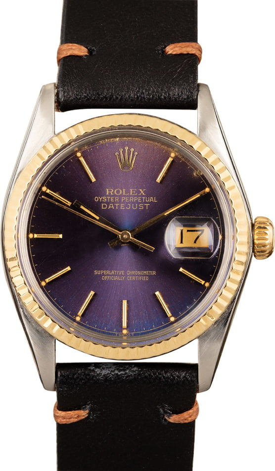 Pre Owned Rolex Datejust 16013 Leather Band
