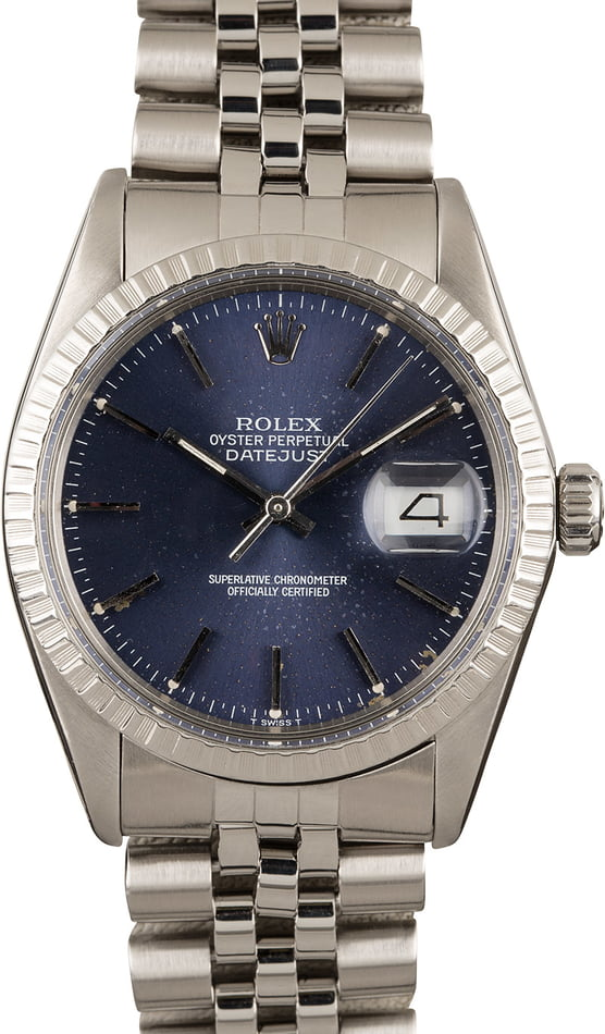 Rolex Datejust 16030 Stainless Oyster