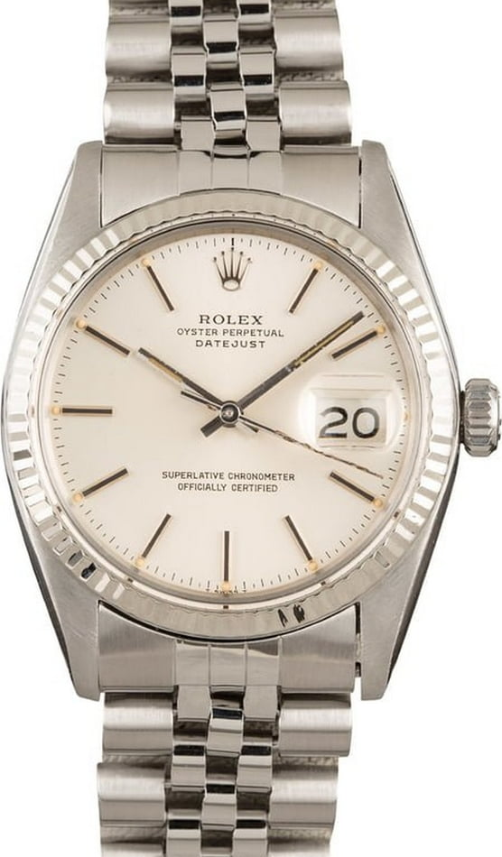 Rolex Oyster Perpetual DateJust Stainless Steel 16014