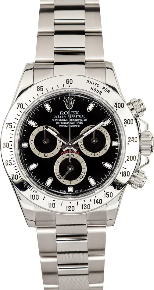 Rolex Black Daytona 116520