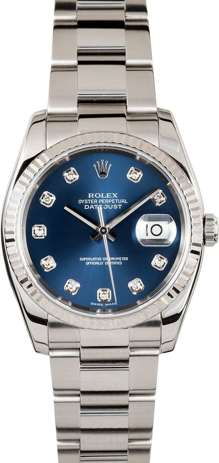 Rolex Diamond Dial Datejust 116234