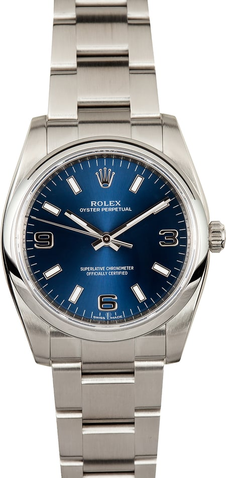 Men's Rolex Oyster Perpetual 114200