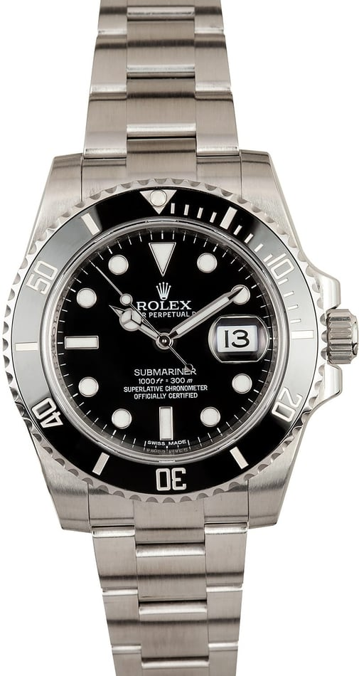 Rolex Ceramic Submariner Model 116610