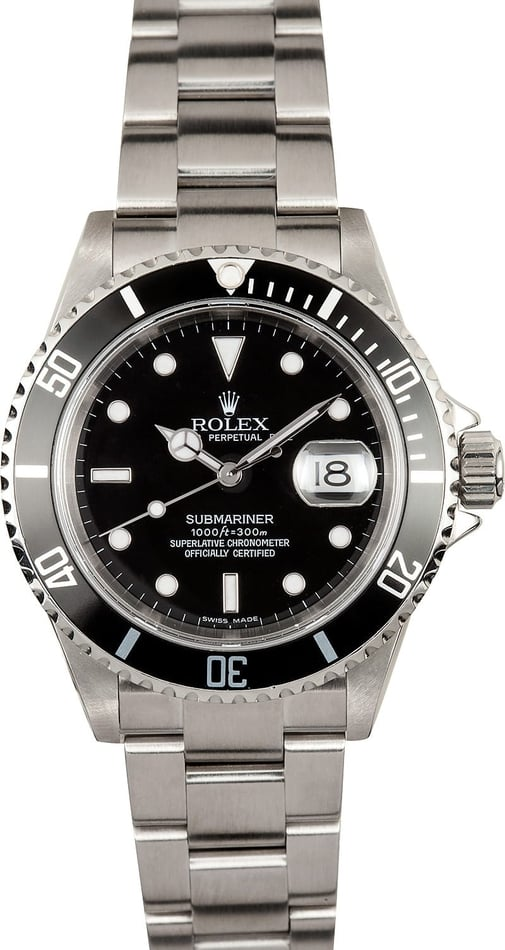 Rolex 16610 Submariner w/ box & papers