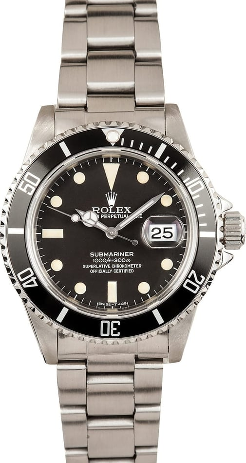 Vintage Rolex Submariner Transitional 16800