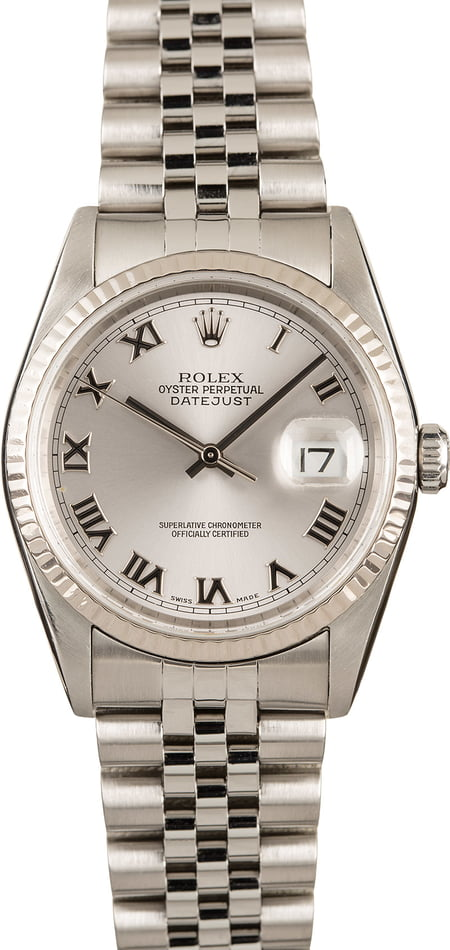 Datejust Rolex Oyster Perpetual Steel Model 16234