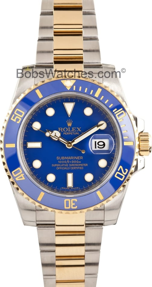 Rolex Submariner 116613 Blue Ceramic