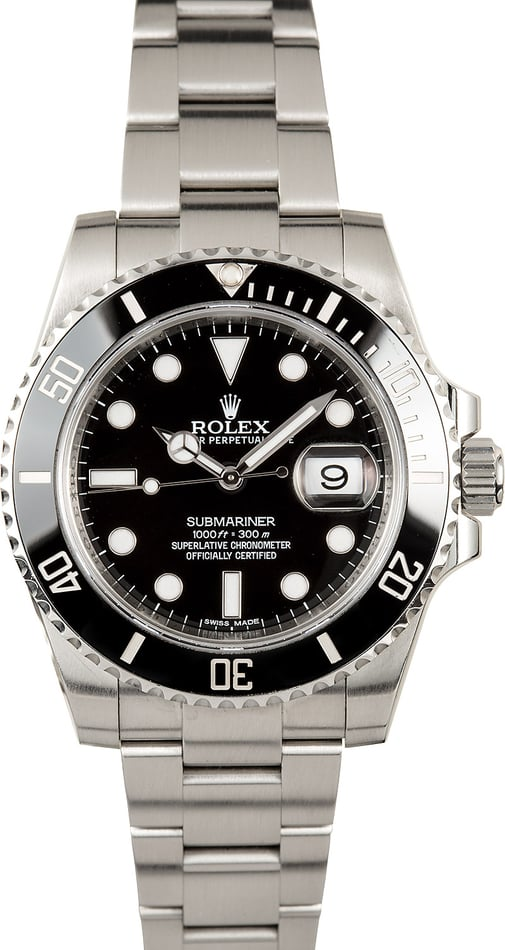 Rolex Submariner 116610 Ceramic Bezel, B&P