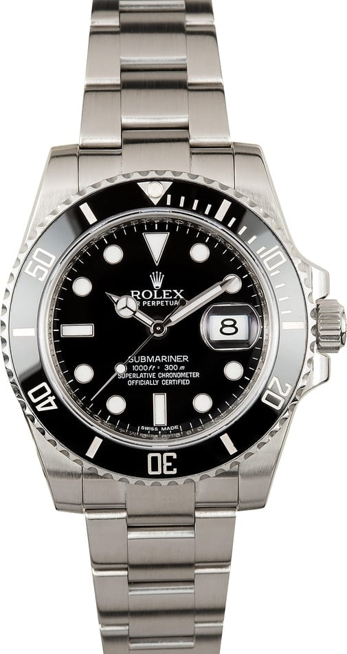 Submariner Rolex 116610 Ceramic Bezel