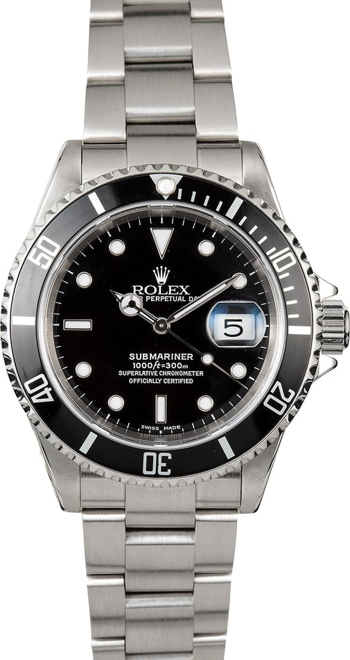 Submariner Rolex 16610 Oyster Band