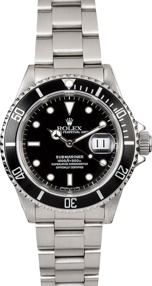 Submariner Rolex 16610 Oyster Perpetual Watch