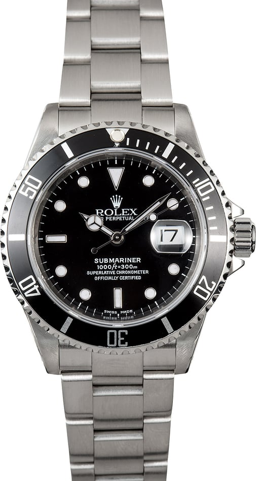 Submariner Rolex 16610 Watch