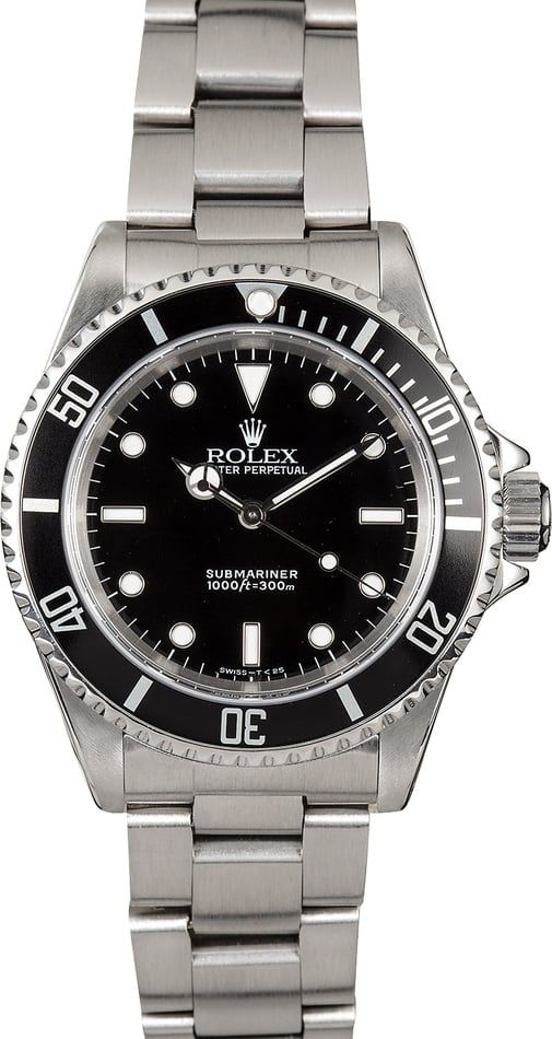 Submariner Rolex No Date 14060 Oyster
