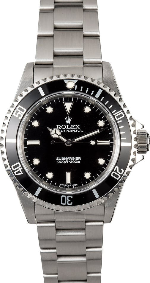 Submariner Rolex No Date 14060 Stainless Steel