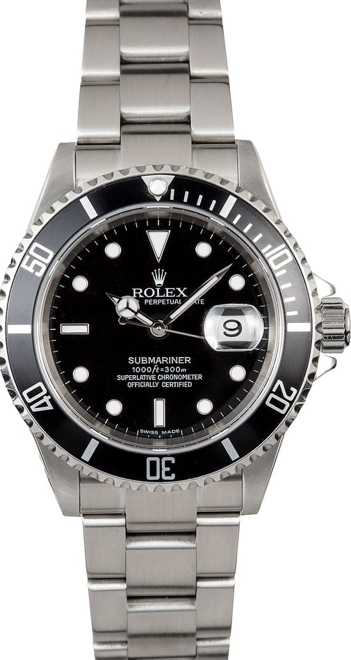 Submariner Rolex Oyster Perpetual 16610