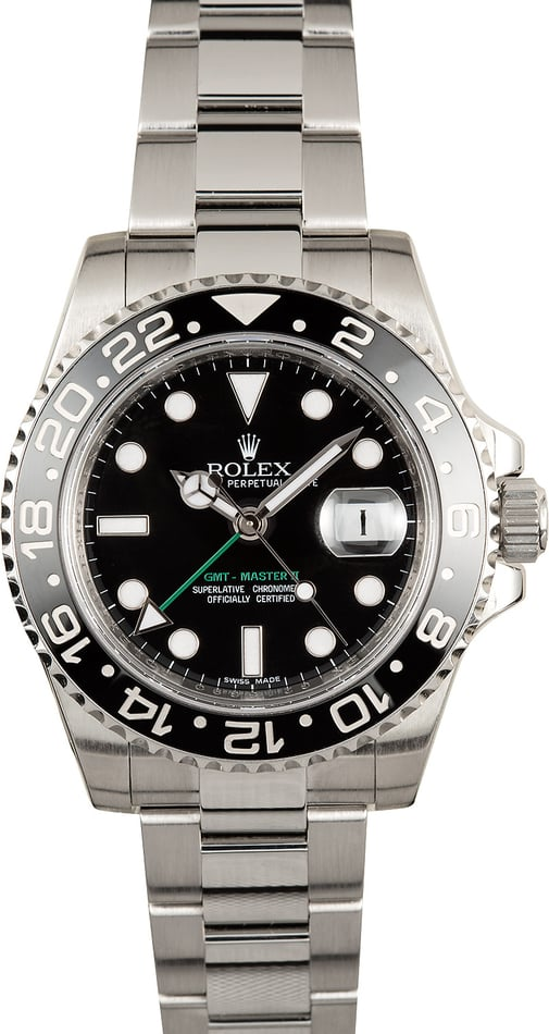 Men's Rolex GMT-Master II 116710 Ceramic