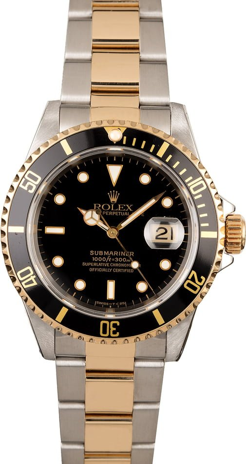 Used Rolex Submariner 16613 Men's Watch