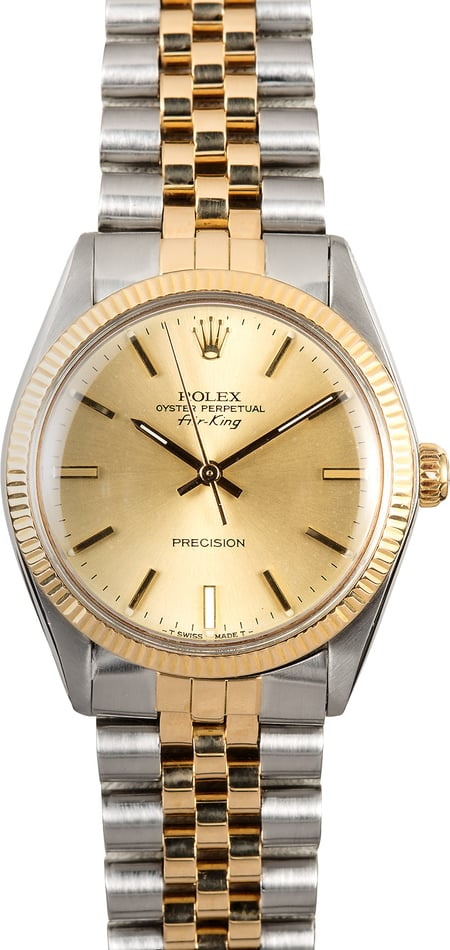 Vintage Rolex Air-King 5501 Two-Tone