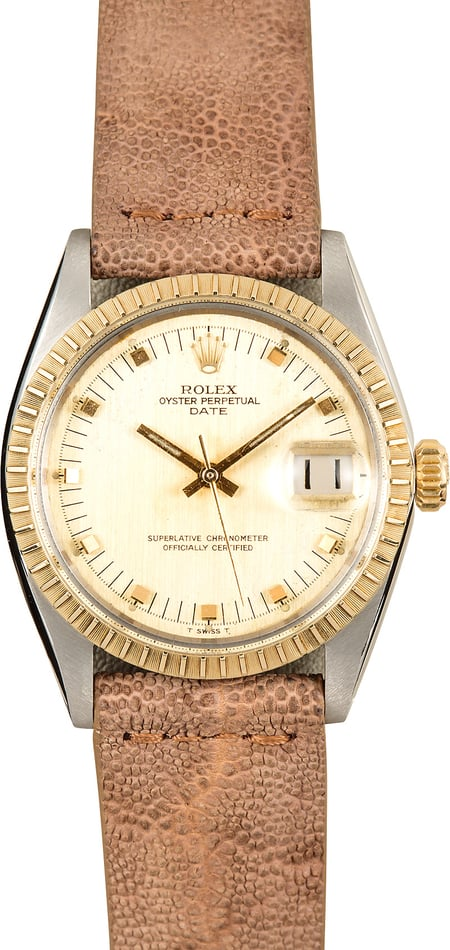 Vintage Rolex Two-Tone Date 1505