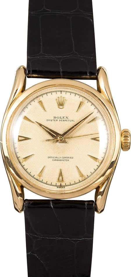 Vintage Rolex Oyster Perpetual 6090 Bombay