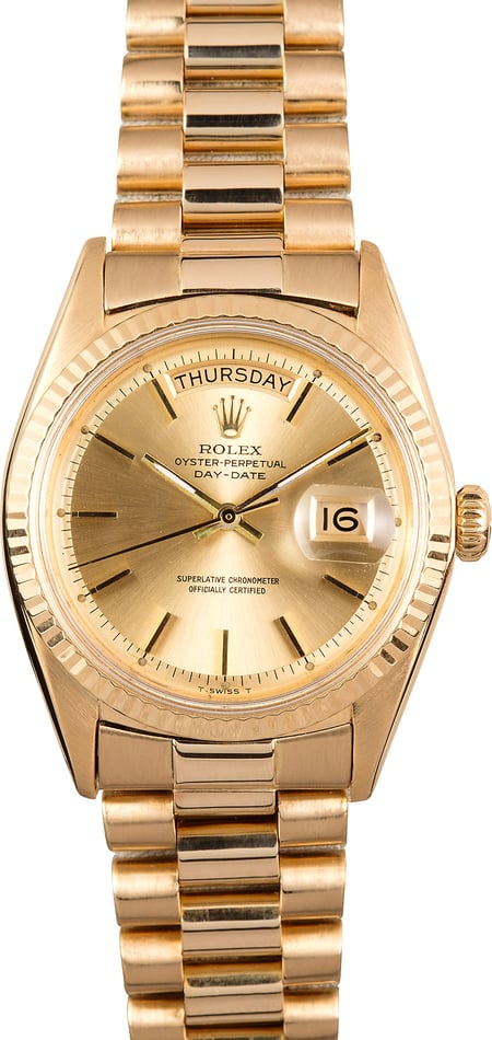 Vintage Rolex Presidential 1803 Day-Date