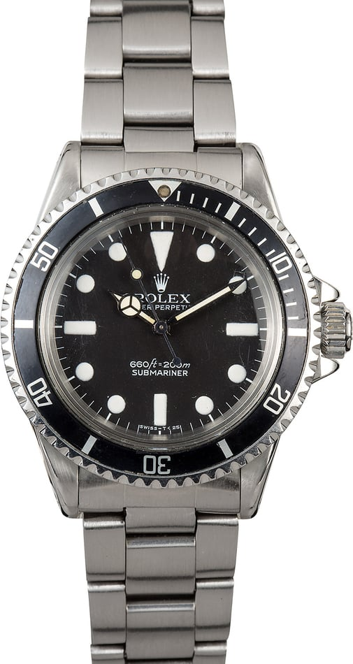 Vintage Rolex Submariner 5513 100% Authentic
