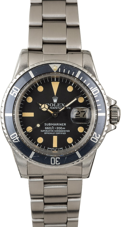 Vintage 1978 Rolex Submariner 1680 Mark II
