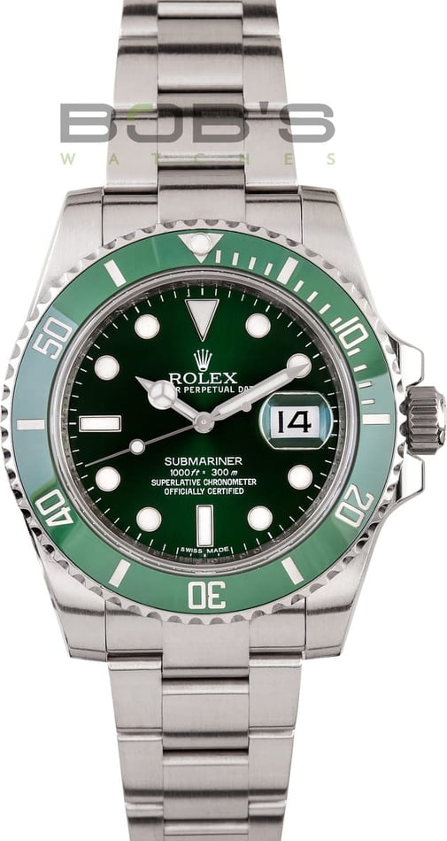 Rolex Submariner Watch 116610LV