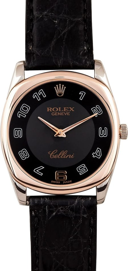 Rolex Cellini Danaos Rose Gold 4233