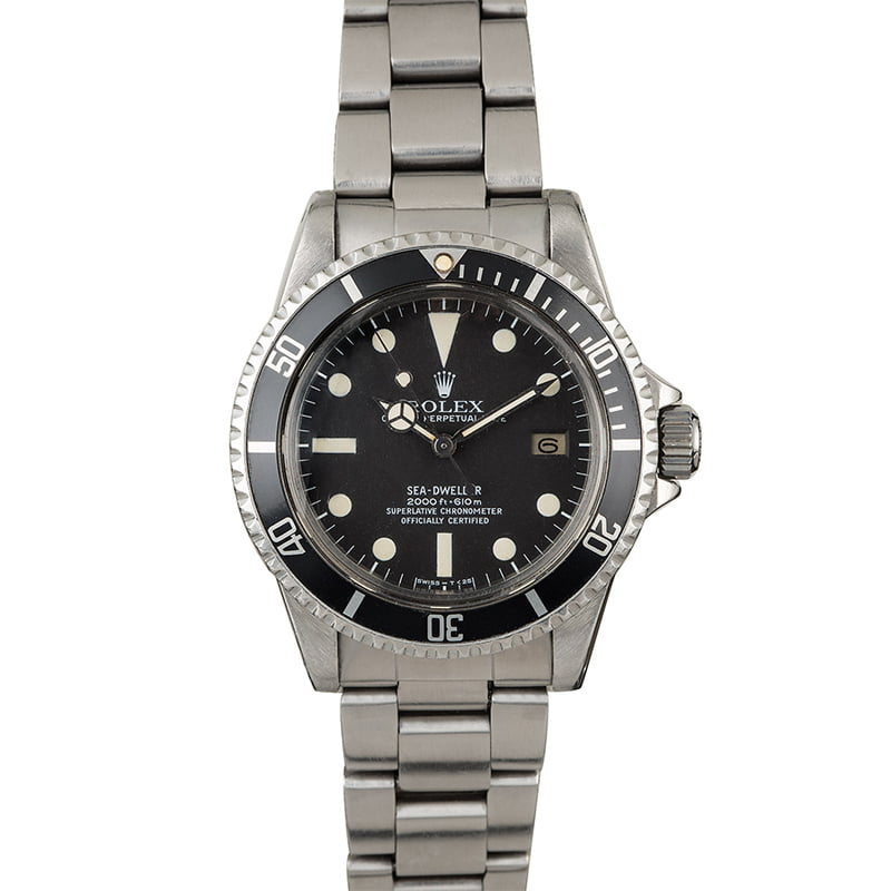 VINTAGE ROLEX SEA-DWELLER 1665 'GREAT WHITE' (1979) BOX & PAPERS