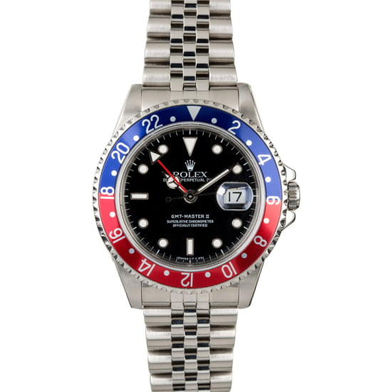 ROLEX GMT-MASTER 16710 'PEPSI BEZEL INSERT' (1991) BOX & PAPERS