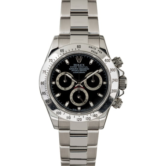 ROLEX DAYTONA 116520 'ROLEX 24 RACE WINNER' (2008) BOX & PAPERS