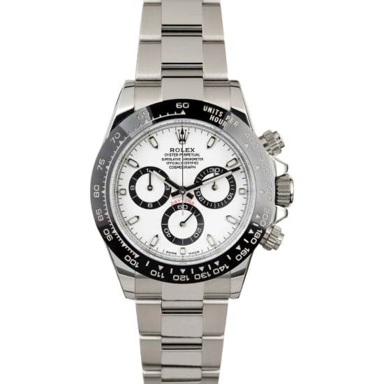 ROLEX DAYTONA 116500LN CERAMIC BEZEL (NEW) BOX & PAPERS