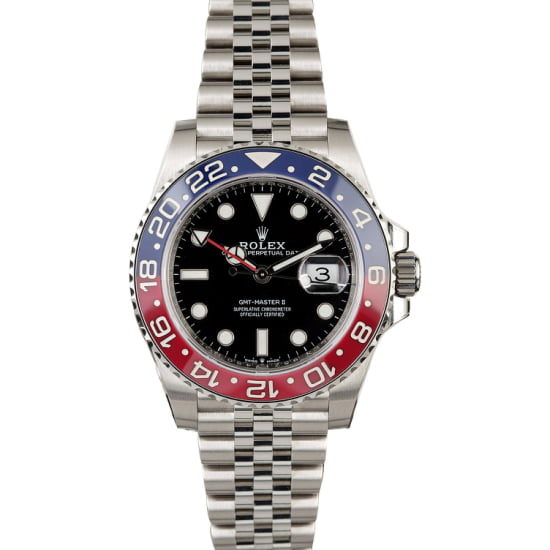 ROLEX GMT-MASTER 126710 CERAMIC PEPSI (NEW 2018) BOX & PAPERS