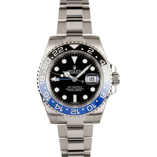 "ROLEX GMT-MASTER 116710 ""BATMAN"""