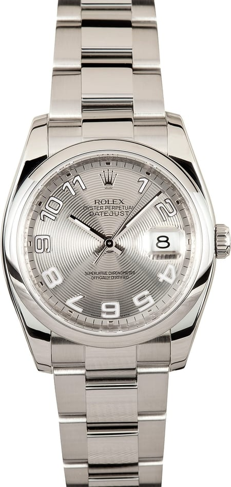 Used Men's Rolex Datejust Watch 116200 CPO