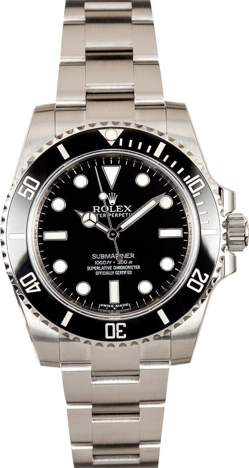 Rolex Submariner 114060 Factory Stickers