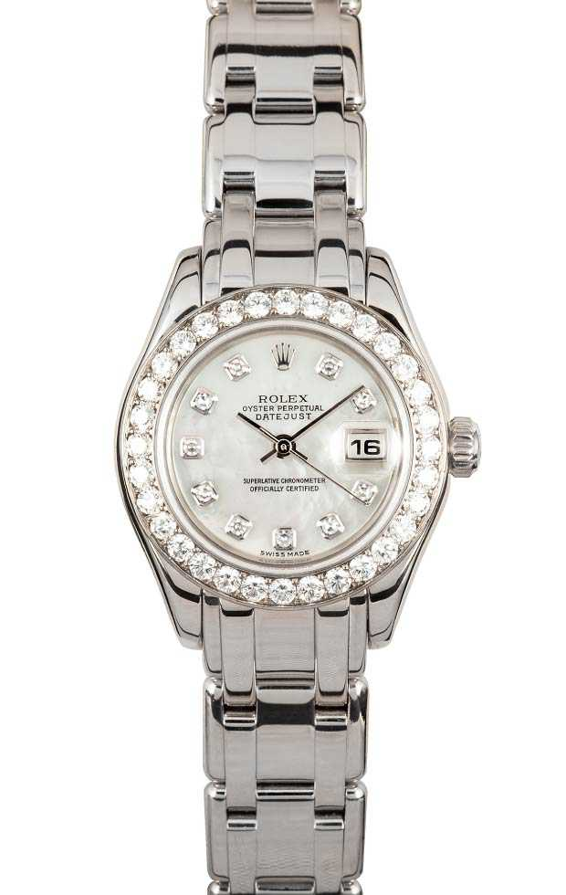 Ladies Pearlmaster Watches